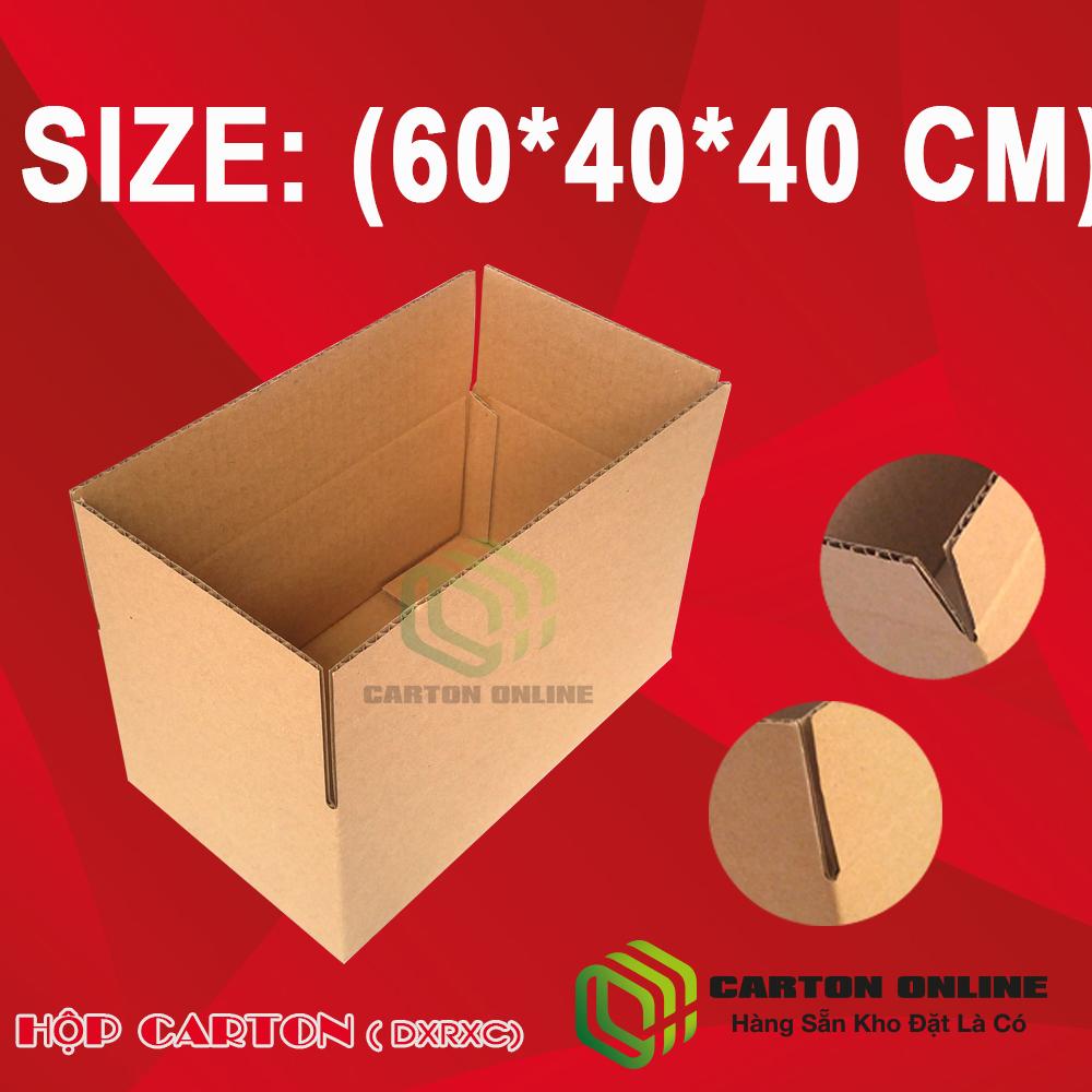 Thùng Carton 60x40x40  - Hộp Carton Giá Rẻ