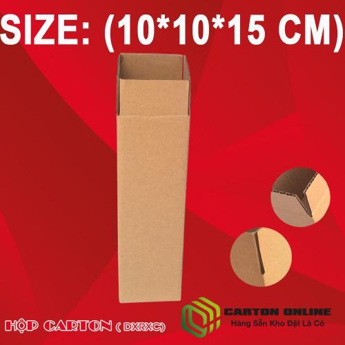 Thùng Carton 10x10x15 - Hộp Carton Giá Rẻ