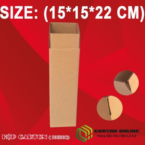 Thùng Carton 15x15x22 - Hộp Carton Giá Rẻ